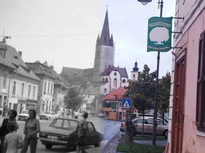 Atunci și acum – Sibiu